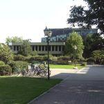 Blick auf Stadthalle (vorher)