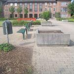 Rathausvorplatz (vorher)