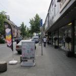 Bahnstraße vor dem Umbau