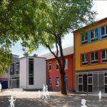 Fotorealistische Darstellung der zukünftigen Gartenschule