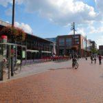 Neutorplatz mit Einkaufscenter und Pavillion