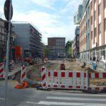 Saarstraße im Umbau