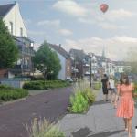 Perspektive zur Umgestaltung der Althoffstraße